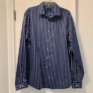 Men's Kenneth Cole Striped Button Down Shirt
